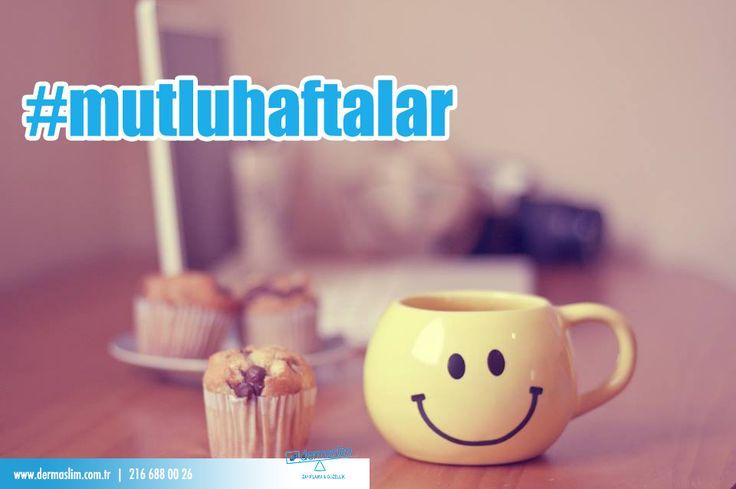 Günaydıııın :) Siz de hala uyanamadıysanız, size içine sevgimizi katığımız bir fincan kahve yolluyoruz ☕ Mutlu haftalar :) #mutluhaftalar #günaydın #pazartesi