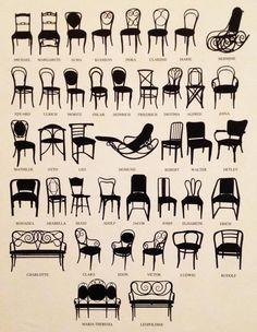 Thonet patented a process of bending under heat several layers of wood veneer glued together and laminated.and used the new material to create curved back-rails and legs on chairs, contoured headboards for beds and scrolled arms for sofas.