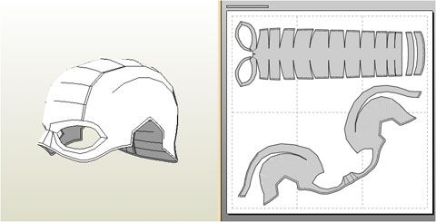 Helmet template foam ant man pinterest helmets and for Iron man foam armor templates
