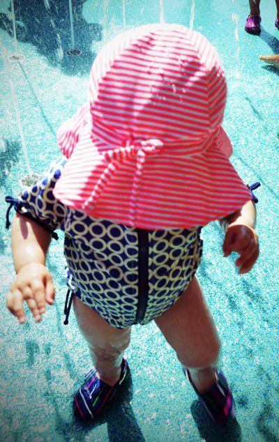 SwimZip Suits Put Sun Protection First - The Baby Bump Diaries