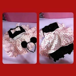 Didem'in Masalı minnie mouse kostümü, doğum günü elbiseleri, doğum günü kıyafetleri,  minnie mouse kostümü, disney kostümleri