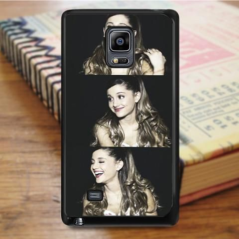 Ariana Grande Beautiful Smile Collage Samsung Galaxy Note 5 Case