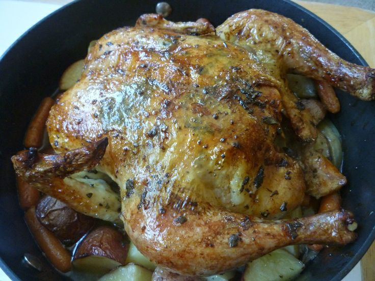 Sunday roast chicken | Clean and Good | Pinterest