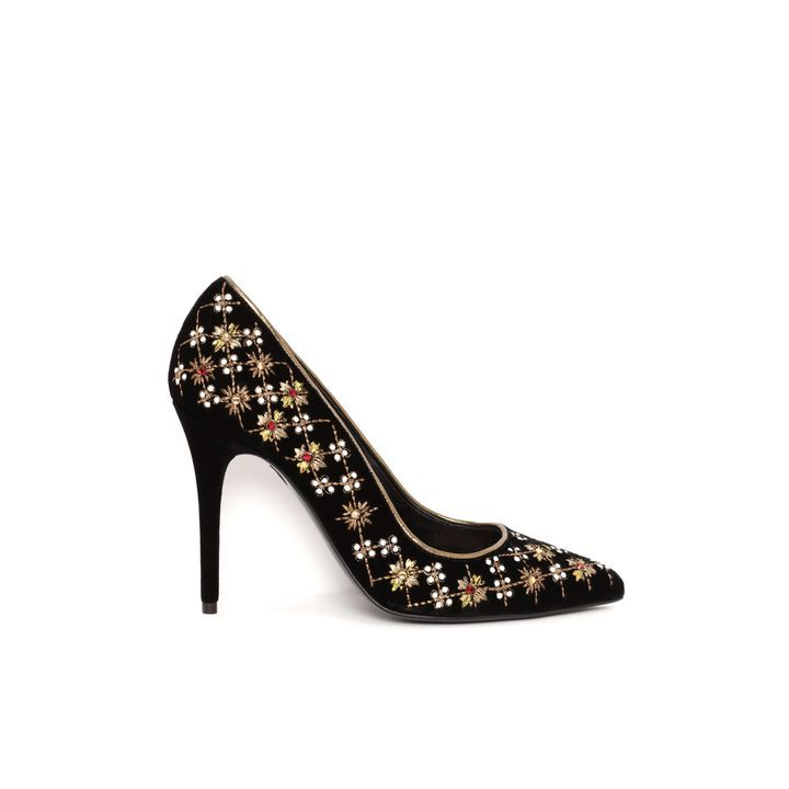 ALEXANDER MCQUEEN | Shoes | Rhombic Embroidered Pointed Pump