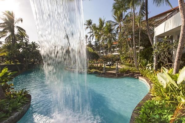 The Lagoon Waterfall at The Laguna, a Luxury Collections Resort & Spa, Nusa Dua, Bali