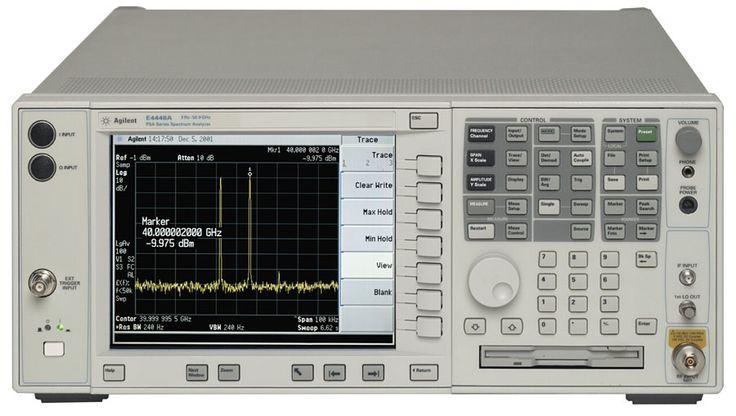 AGILENT / HP E4448A  Spectrum Analyzer, 3 Hz - 50 GHz