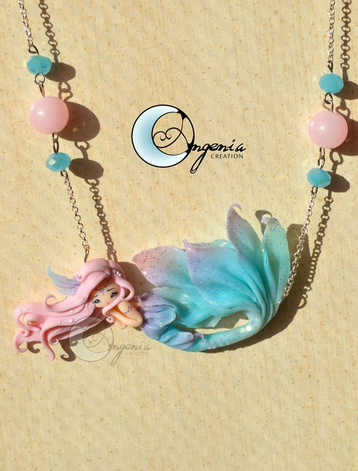 sirenetta Cotton Candy by AngeniaCreations on Etsy