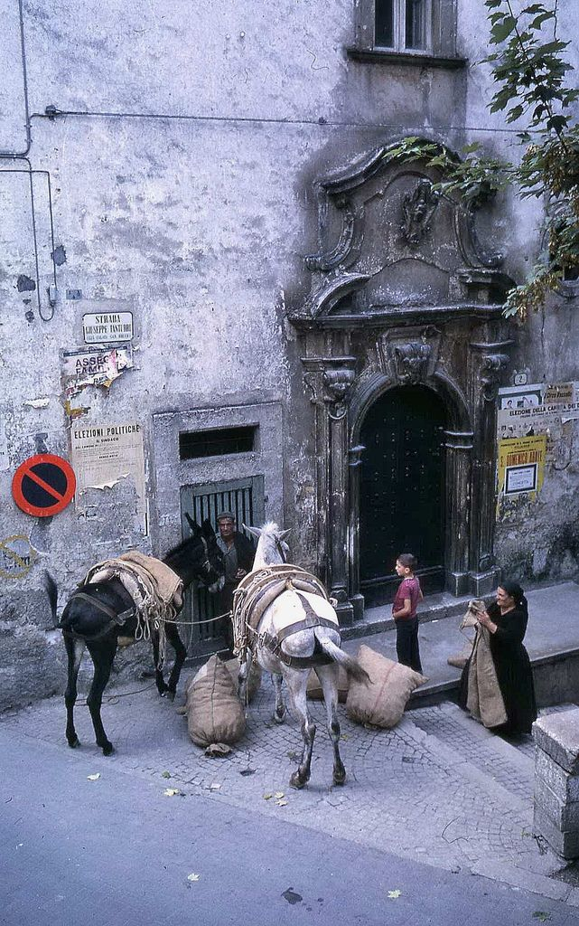 SCANNO 1968 - VENDITORE DI PATATE #TuscanyAgriturismoGiratola