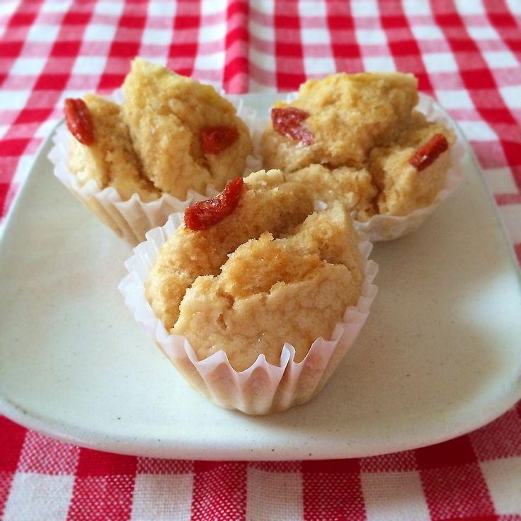 レシピあり!米粉マーラーカオ(卵、牛乳なし) | demekinさんのお料理 ペコリ by Ameba - 手作り料理写真と簡単レシピでつながるコミュニティ -