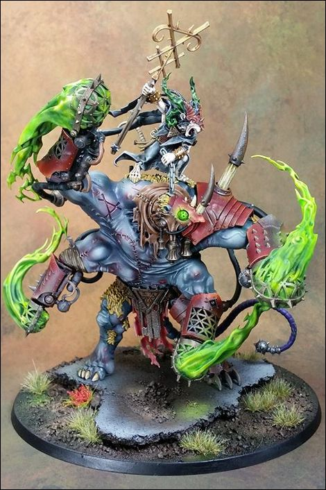 Thanquol & Boneripper, painted by Andy Kessler