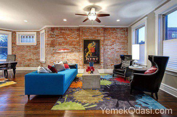Tuğla Duvarlar İle Muhteşem Salon Dekorasyonu Salon dekorasyonunda yenilik yapmak istiyorsanız duvarlarınızda küçük değişiklikler yapabilirsiniz. Örneğin, salon duvarlarının bir kısmında tuğa duvar uygulaması yaptırabilirsiniz. Salonunda farklı bir atmosfer yaratmak istiyorsanız sizler için seçtiğimiz birbirinden muhteşem tuğla duvar ile salon https://www.yemekodasi.com/tugla-duvarlar-ile-muhtesem-salon-dekorasyonu/  #SalonDekorasyonu #DuvarDeko