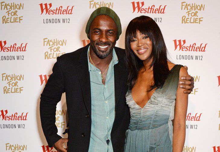 Pin for Later: Everyone Wants a Piece of Idris Elba With Naomi Campbell