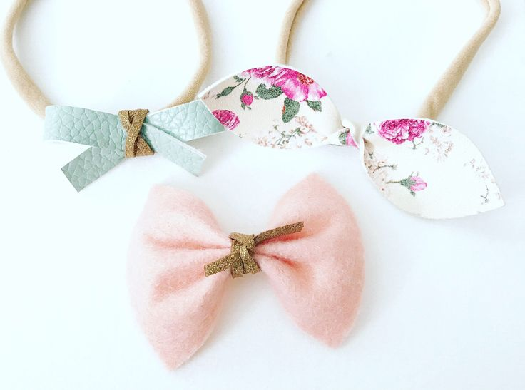 A personal favorite from my Etsy shop https://www.etsy.com/ca/listing/535695014/set-of-3-mixed-headbands-felt-bow-faux