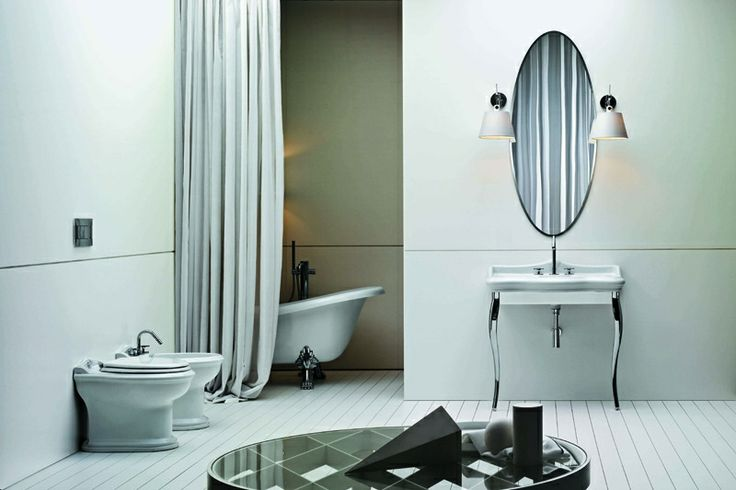 In these bathroom sets, European and oriental design influences merge together in an intelligent creative balance.
