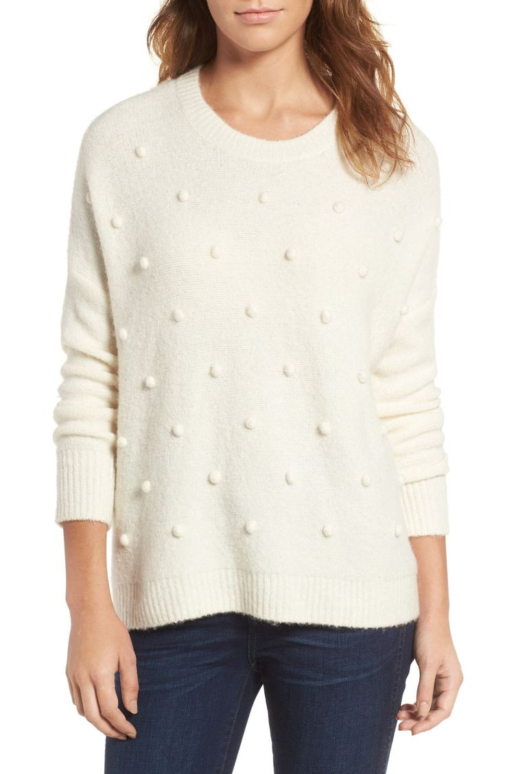 madewell bobble pullover sweater