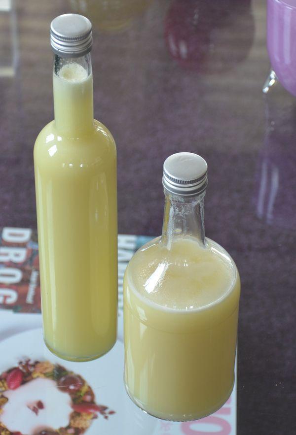 Crema di limoncello maken