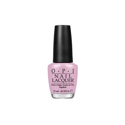 I'm Gown for Anything NL BA4 / Alice Through The Looking Glass  Follow these steps for a mani that lasts: 1. Start by applying OPI Base Coat to clean, dry nail
