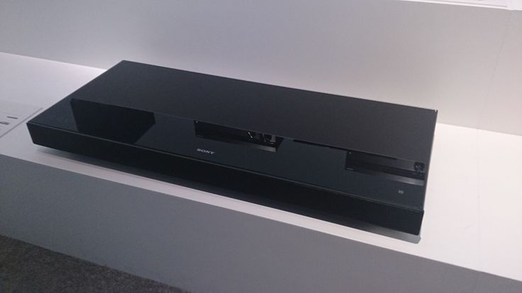 Unveiled at the London Sony centre (for our Norwich showroom) Sony HT - XT1 All in one box sound system for TV #Sony