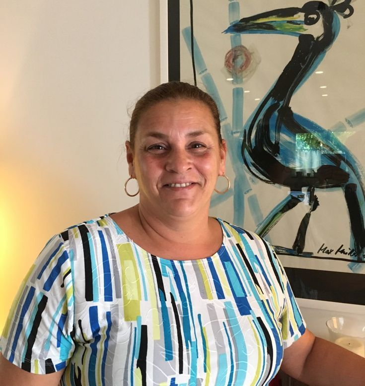 We love sharing info with you about our staff for #meettheteammonday here at Cook-N-Dine! Today, we would like to introduce Marcia. She is one of our administrative assistants and hails from Brasil. She's a natural born organizer, which provides a huge help in our office.  Marcia loves to cook, has an infectious laugh and is an avid animal lover. She's even managed to win over the heart of our fierce little terrier, Fritzi. Her and Bea share a passion for Christmas decor.