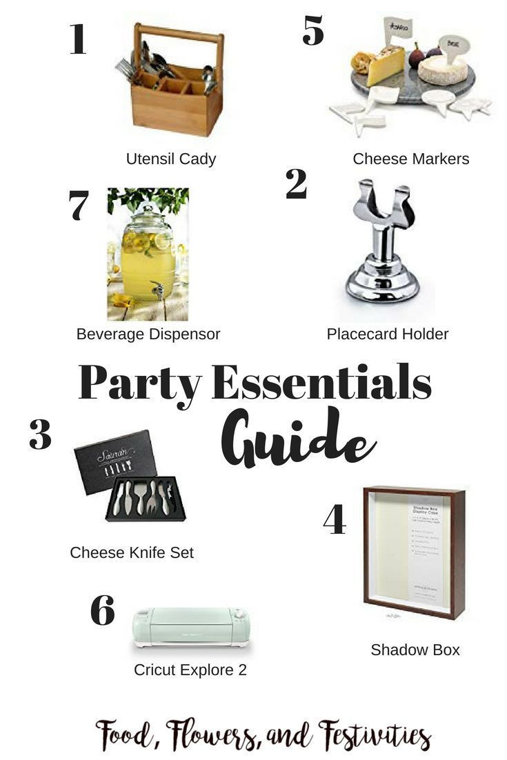 Party Essentials Party Essential Party Essentials List Party