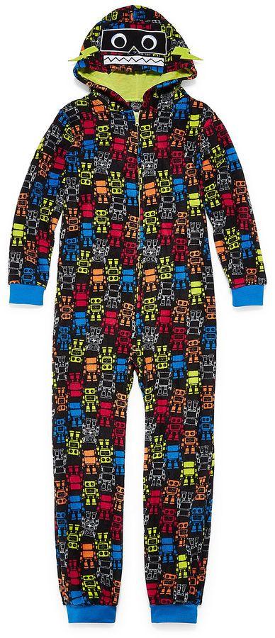 CLOUD 9 Robot One Piece Pajama - Boys 4-20