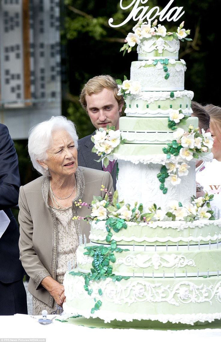 Whilst the former ruler's birthday isn't until September 11, celebrations were held early ...