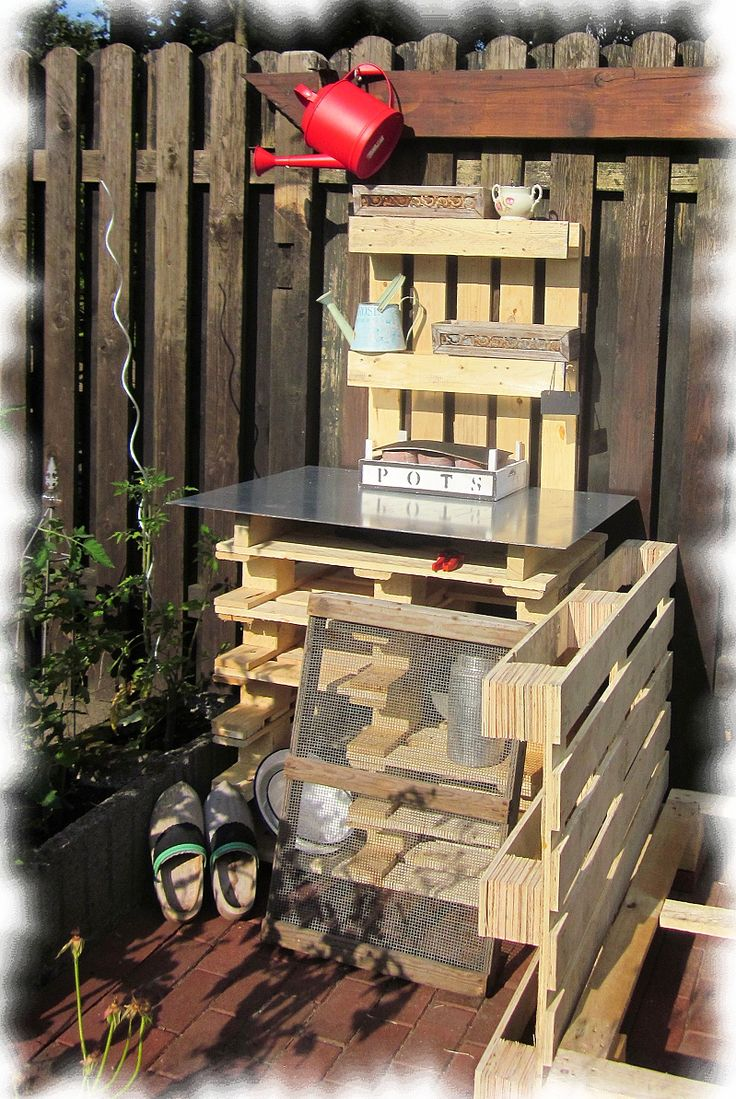 94 best images about pallet projects on pinterest - Pflanztisch paletten ...