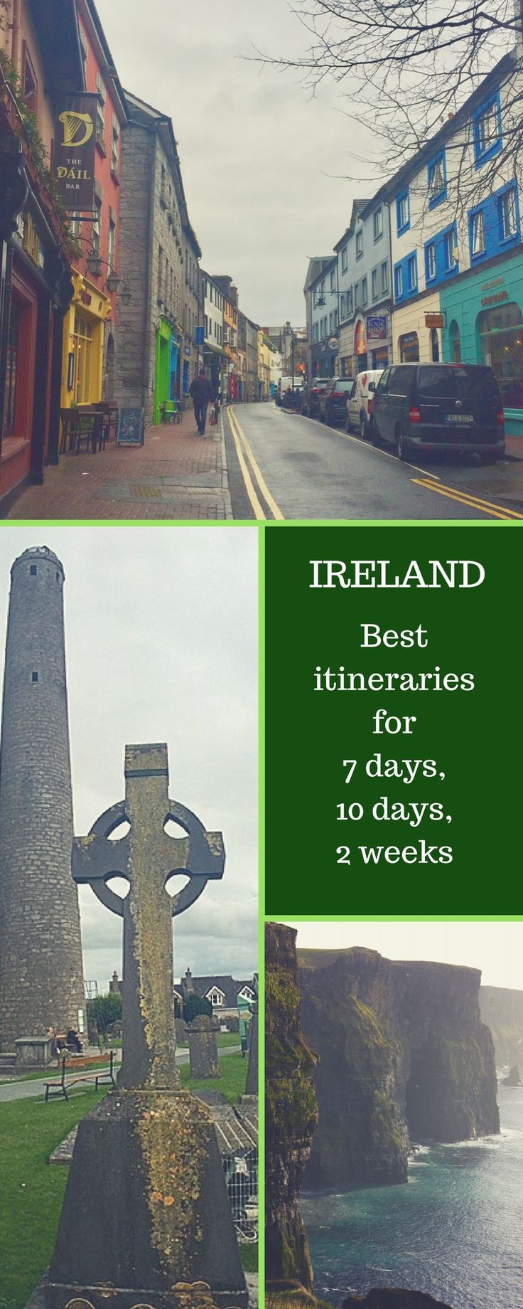 The best Ireland itineraries for 7 days, 10 days or two weeks in Ireland. A handy guide with the best stops for an Ireland road trip and Ireland travel tips for the whole family.