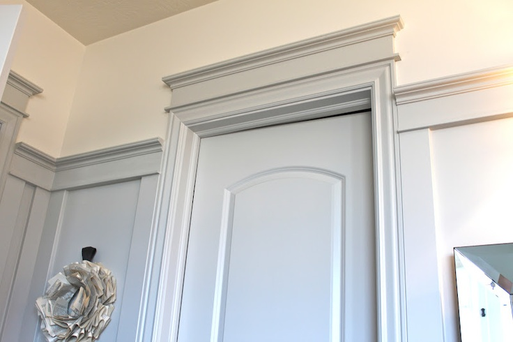 Door Trim Molding Add Header To Existing Molding Diy