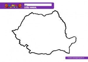 001 - Harta Romaniei