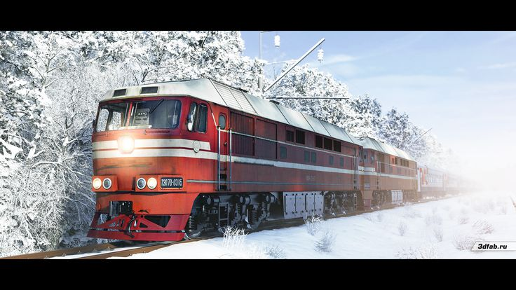 3DFAB. Modeling & render train TEP70