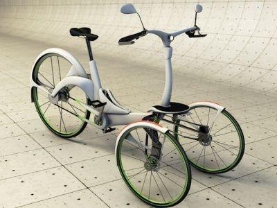 Kaylad concept tricycle électrique                                                                                                                                                                                 Plus