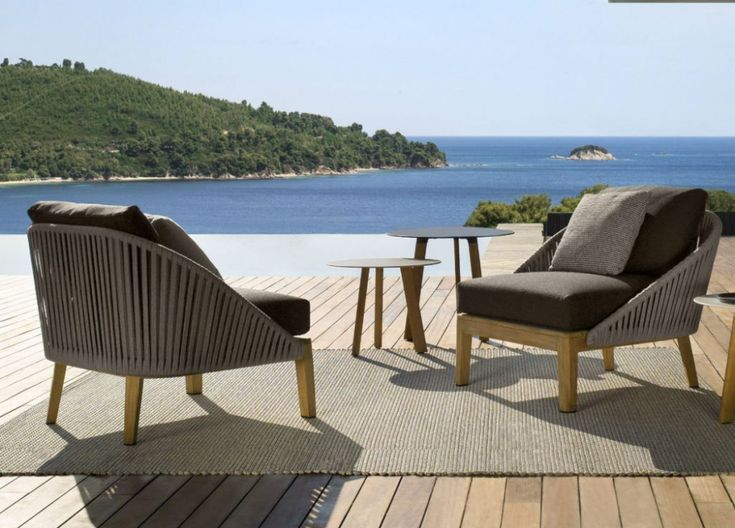 Tribu Outdoor Furniture Lounge Chair Teak Garden Furniture Outdoor Furniture Teak Garden Furniture Furniture
