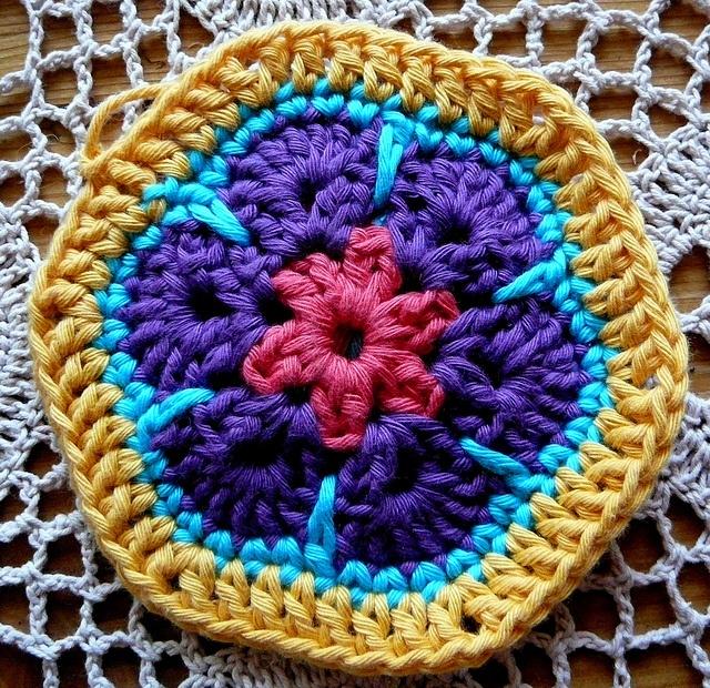 African Flower Hexagon