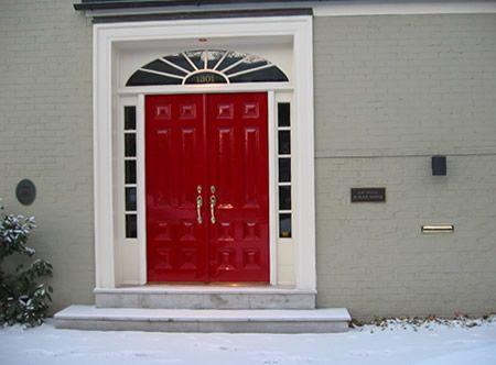 1002 rembrandt red eco brilliant classic european color for European exterior doors