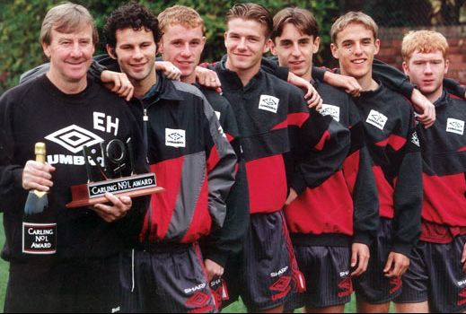 Manchester United. Class of 92.