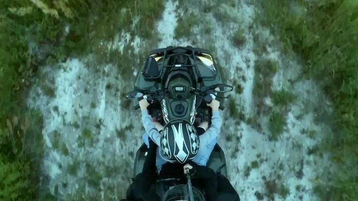 ATV passenger video - motovlog California USA compilation