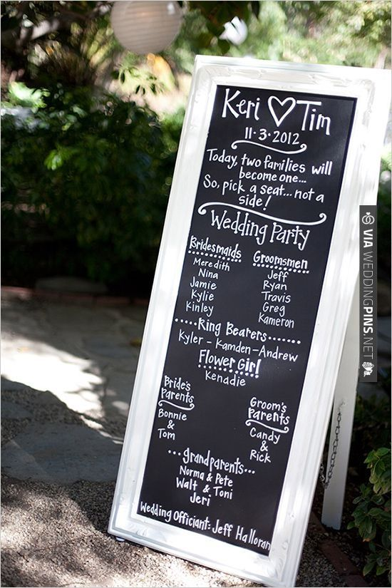 Save Paper With A Cute Wedding Program Sign Via Weddingpins Net