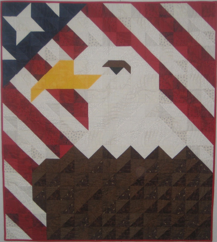 Eagle Quilt Designer Ryan Clayton Pinterest Quilt