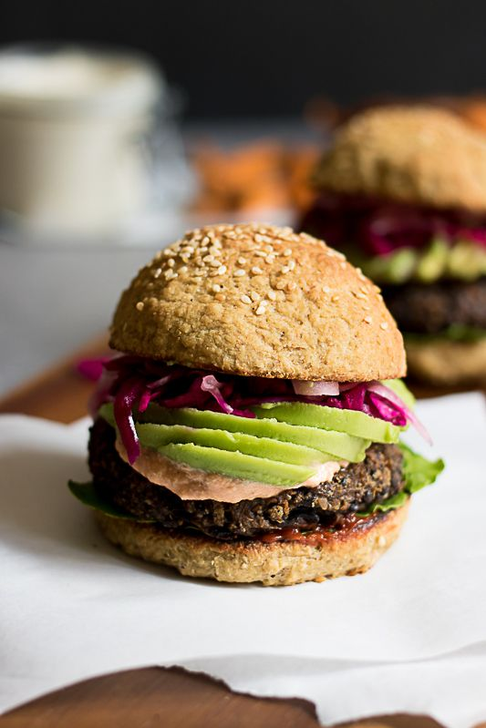 These burger are delicious, authentic in both texture and flavor and seriously satisfying! | Vegan & Gluten free