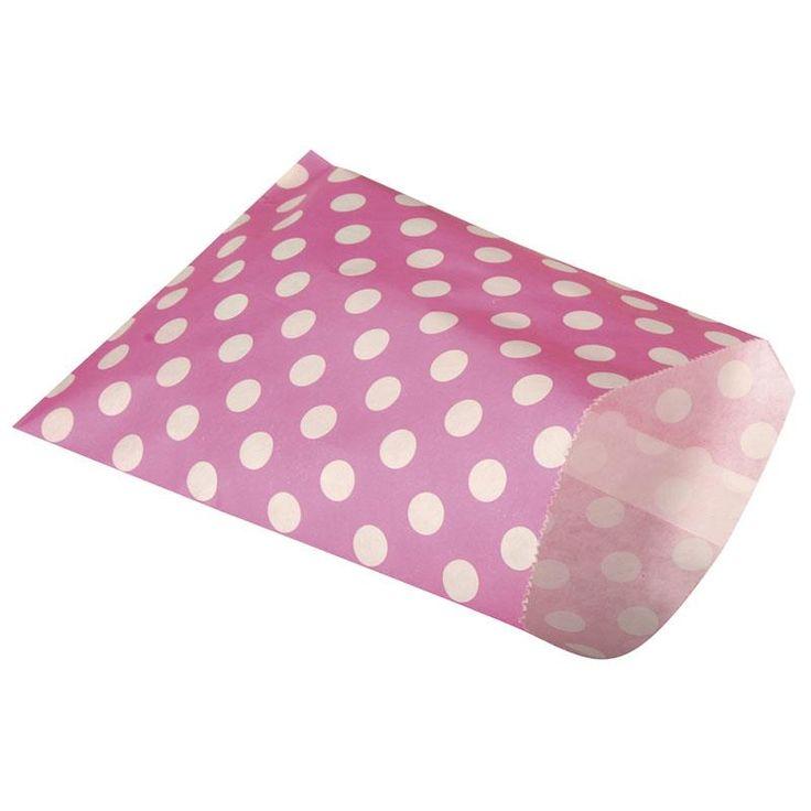 Divatos, színes papírzacskó élelmiszer csomagolásra is. Kreatívan díszítheted papírcsipkével, csipesszel, szalaggal... Köszönőajándék csomagolására is szépséges megoldás.