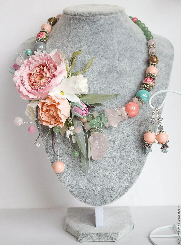 Купить комплект ЗЕФИРНЫЙ ДЕСЕРТ - бледно-розовый, персиковый, мятный, пастельные тона, нежный комплект