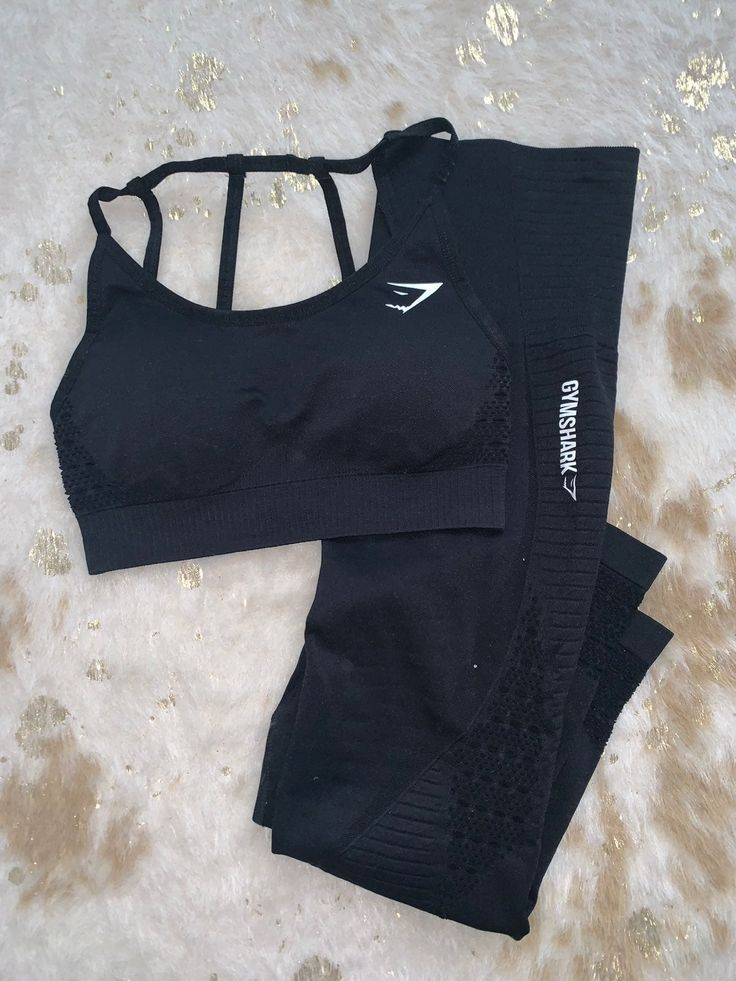 Gymshark vital seamless cropped leggings with matching