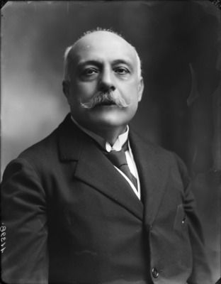 This is prime minster Antonio Salandra. he was the prime minister of Italy and was part of the triple alliance to.