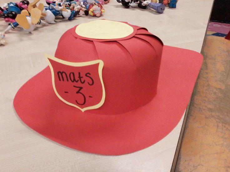 hoed brandweer