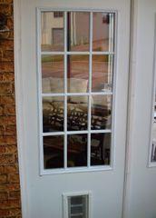 Beautiful Exterior Door With Built In Pet Door   Pet Ready XPD75 Door   FREE SHIPPING!