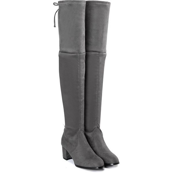 best 25 grey knee high boots ideas only on