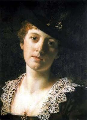 Władysław Czachórski (Polish artist, 1850–1911) Woman 1880