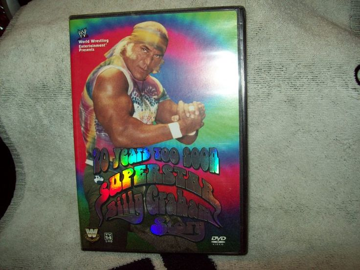 WWE SUPERSTAR BILLY GRAHAM DVD 20 YEARS TO SOON