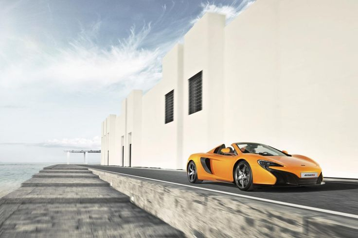 To die for!!! McLaren 650S Spider Drops Its Top! Hit the image for the video... #CarPorn